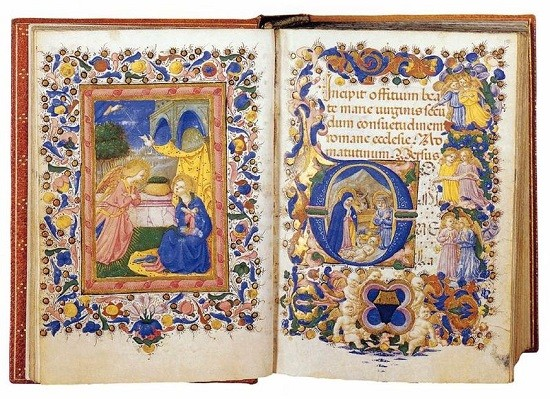 800px-Zanobi_Strozzi_-_Book_of_Hours_for_the_Use_of_Rome_Folios_14v-15r_-_WGA21934